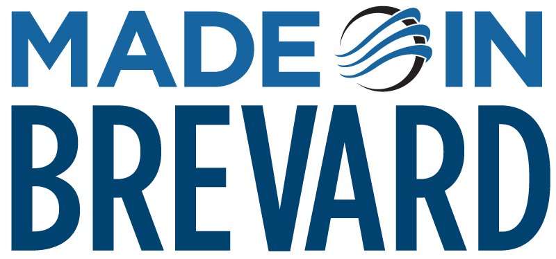 Made In Brevard Logo - An Initiative of EDC of Florida's Space Coast - See profiles of key companies and add yours to the list. Click to learn more.