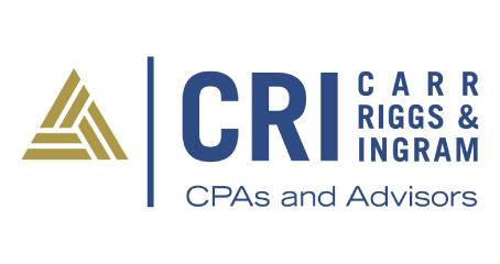 CRI - Carr Riggs and Ingram - CPAs and Advisors Logo