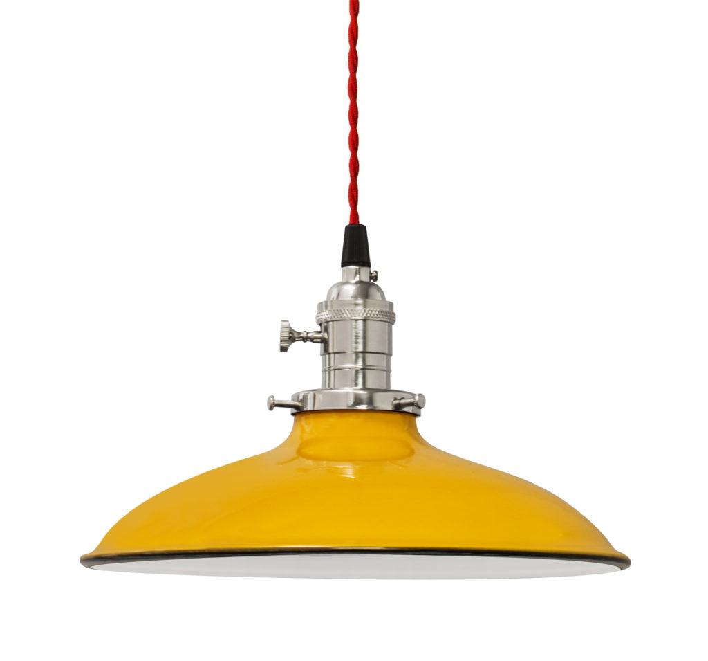 Yellow Barn Light Electric Company lamp