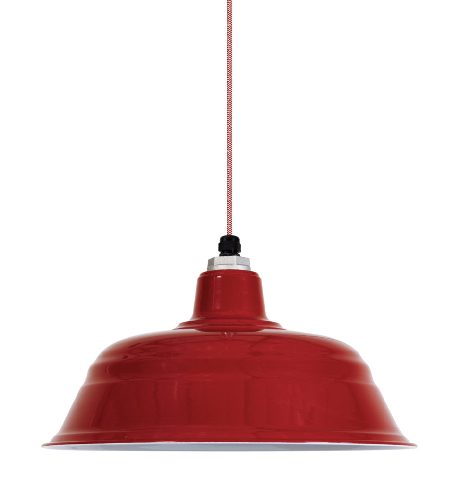 Red Barn Light Electric Company lamp