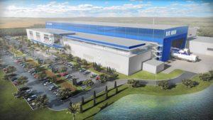 Blue Origin Building Illustration Image