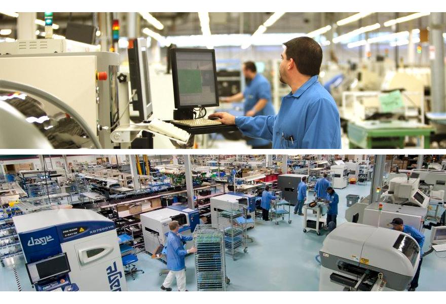 Mack Technologies employees at work